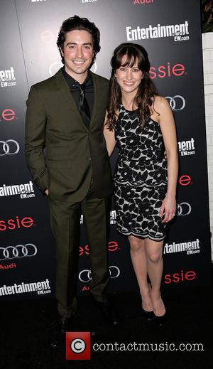Ben Feldman and Michelle Mulitz - Entertainment Weekly Screen Actors Guild (SAG) Party at Chateau Marmont - Arrivals Hollywood California...