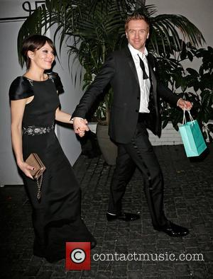 Helen McCrory and Damian Lewis - Entertainment Weekly Screen Actors Guild (SAG) Party Los Angeles California United States Saturday 26th...