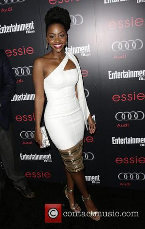 Teyonah Parris - Entertainment Weekly Screen Actors Guild (SAG) Party Los Angeles California United States Saturday 26th January 2013