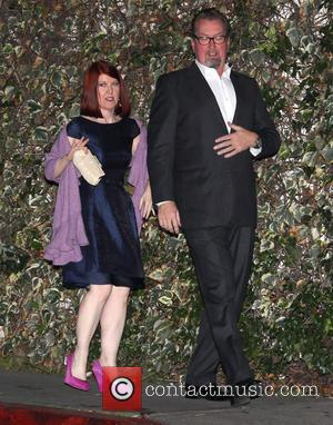 Kate Flannery and Chris Haston - Entertainment Weekly Screen Actors Guild (SAG) Party Los Angeles California United States Saturday 26th...