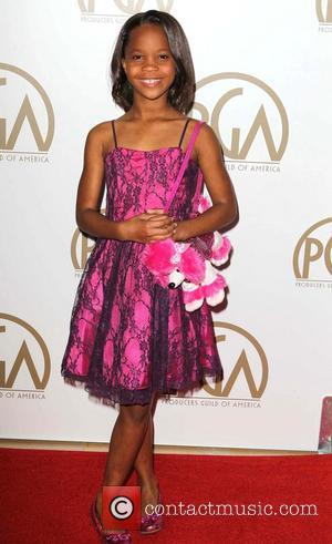 Quvenzhane Wallis - Producers Guild Awards Los Angeles California United States Saturday 26th January 2013