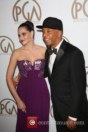 Russell Simmons and German Model Hana Nitsche