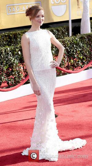 Jayma Mays - SAG Awards Arrivals Los Angeles California United States Saturday 26th January 2013