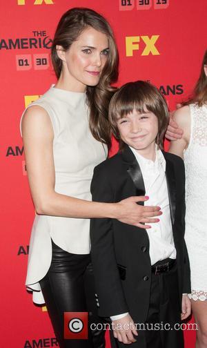 Keri Russell and Keidrich Sellati - 'The Americans' screening New York United States Saturday 26th January 2013