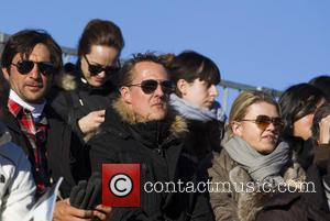 Michael Schumacher and Corinna Schumacher