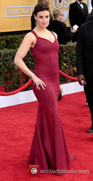 Idina Menzel - 19th Annual Screen Actors Guild (SAG) Awards - Arrivals Los Angeles California United States Saturday 26th January...