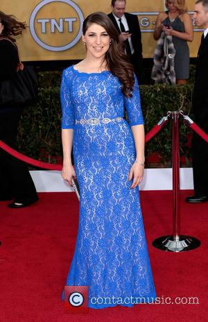 Mayim Bialik - 19th Annual Screen Actors Guild (SAG) Awards - Arrivals Los Angeles California United States Saturday 26th January...