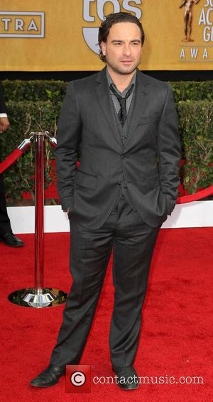 Johnny Galecki - SAG Awards Arrivals Los Angeles California United States Sunday 27th January 2013