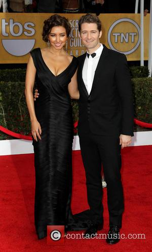 Matthew Morrison and Guest - SAG Awards Arrivals Los Angeles California United States Sunday 27th January 2013