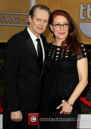 Steve Buscemi and Jo Andres - SAG Awards Arrivals Los Angeles California United States Sunday 27th January 2013