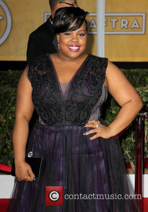 Amber Riley - SAG Awards Arrivals Los Angeles California United States Sunday 27th January 2013