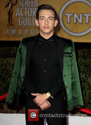 Kevin McHale - SAG Awards Arrivals Los Angeles California United States Sunday 27th January 2013