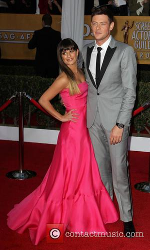 Lea Michele and Cory Monteith - SAG Awards Arrivals Los Angeles California United States Sunday 27th January 2013