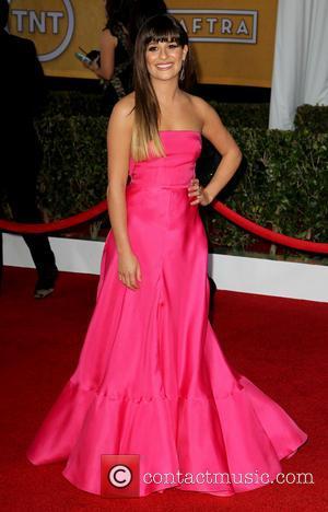 Lea Michele - SAG Awards Arrivals Los Angeles California United States Sunday 27th January 2013