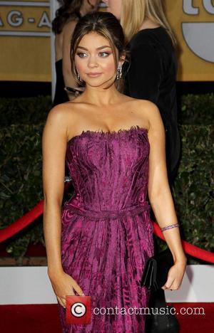 Sarah Hyland - SAG Awards Arrivals Los Angeles California United States Sunday 27th January 2013