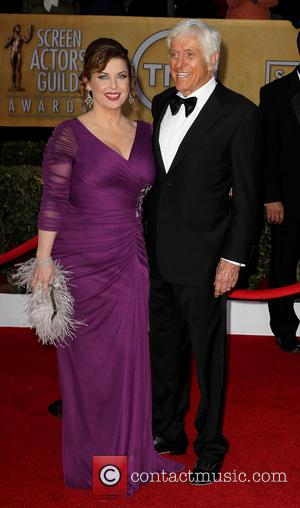 Dick Van Dyke and Guest - SAG Awards Arrivals Los Angeles California United States Sunday 27th January 2013