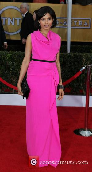 Freida Pinto - Screen Actors Guild Awards Los Angeles California USA Sunday 27th January 2013