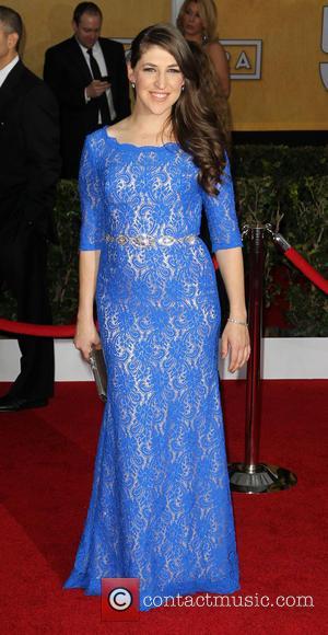 Mayim Bialik - Screen Actors Guild Awards Los Angeles California USA Sunday 27th January 2013