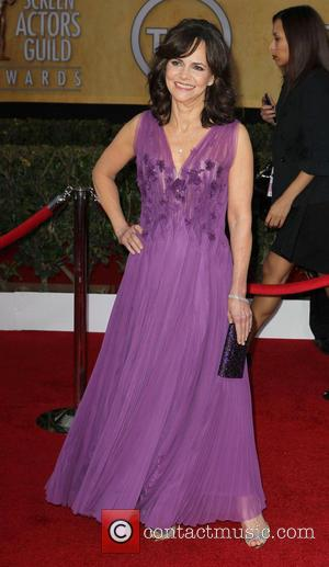 Sally Field - SAG Awards Arrivals Los Angeles California United States Sunday 27th January 2013