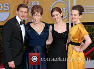 Allen Leech, Phyllis Logan, Amy Nuttall and Sophie McShera - 19th Annual Screen Actors Guild (SAG) Awards Los Angeles California...