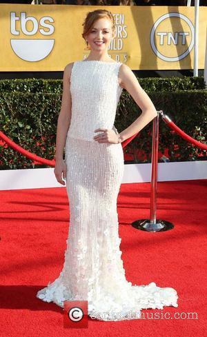 Jayma Mays - 19th Annual Screen Actors Guild (SAG) Awards Los Angeles California United States Sunday 27th January 2013