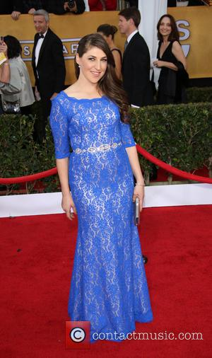 Mayim Bialik - 19th Annual Screen Actors Guild (SAG) Awards - Arrivals Los Angeles United States Sunday 27th January 2013