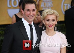 Noah Wyle and Sara Wells - 19th Annual Screen Actors Guild (SAG) Awards - Arrivals Los Angeles United States Sunday...