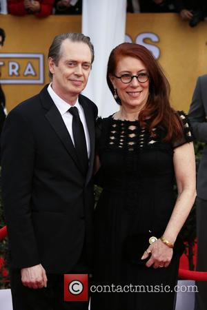 Steve Buscemi and His Wife Jo Andres
