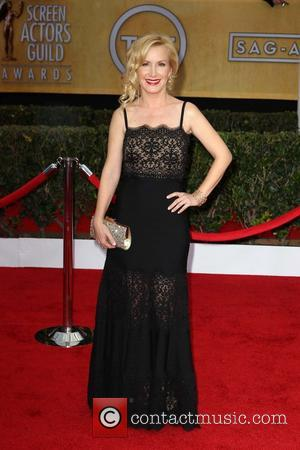 Angela Kinsey - 19th Annual Screen Actors Guild (SAG) Awards - Arrivals Los Angeles California USA Sunday 27th January 2013