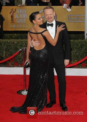 Jared Harris and Allegra Riggio - 19th Annual Screen Actors Guild (SAG) Awards - Arrivals Los Angeles California USA Sunday...
