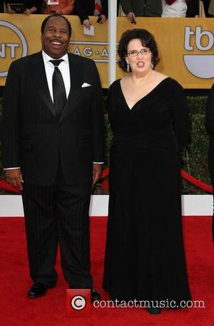 Leslie David Baker and Phyllis Smith - 19th Annual Screen Actors Guild (SAG) Awards - Arrivals Los Angeles California USA...