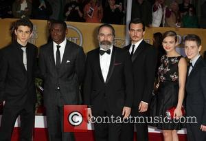 Timothee Chalamet, M, Y Patinkin, Rupert Friend, Morgan Saylor and Jackson Pace