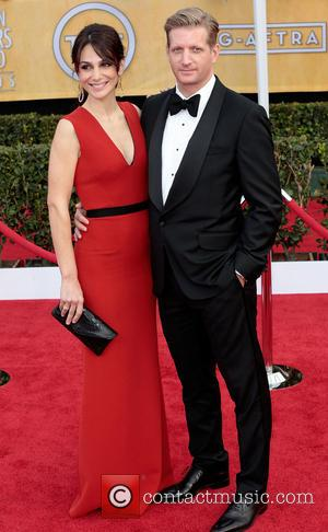 Annie Parisse and Paul Sparks - 19th Annual Screen Actors Guild (SAG) Awards held at the Shrine Auditorium - Arrivals...