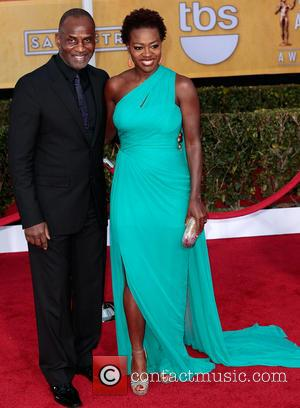 Viola Davis (R) and husband Julius Tennon