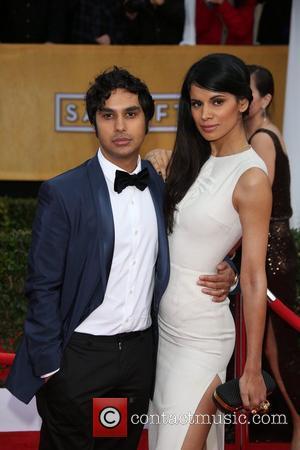Kunal Nayyar (l) and Neha Kapur - 19th Annual Screen Actors Guild (SAG) Awards held at the Shrine Auditorium -...