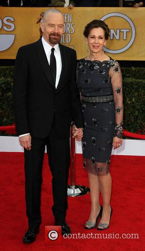 Bryan Cranston and Robin Dearden - SAG Awards Arrivals Los Angeles California United States Sunday 27th January 2013