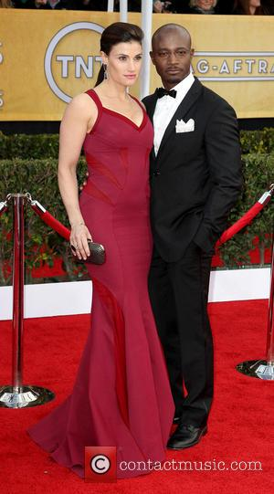 Idina Menzel and Taye Diggs - SAG Awards Arrivals Los Angeles California United States Sunday 27th January 2013