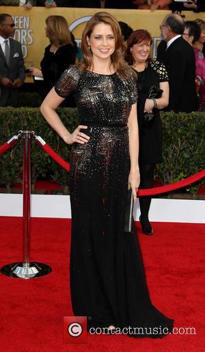 Jenna Fischer - SAG Awards Arrivals Los Angeles California United States Sunday 27th January 2013