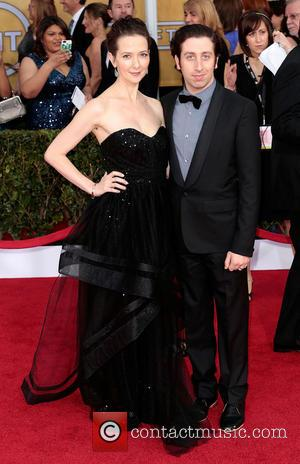 Jocelyn Towne and Simon Helberg - Screen Actors Guild Awards Los Angeles California USA Sunday 27th January 2013
