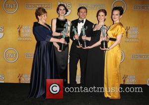 Phyllis Logan, Michelle Dockery, Allen Leech, Amy Nuttall and Sophie Mcshera