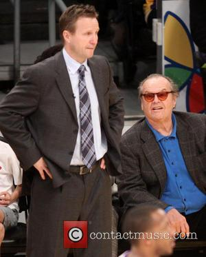 Jack Nicholson - Celebrities watch the LA Lakers Los Angeles California United States Sunday 27th January 2013