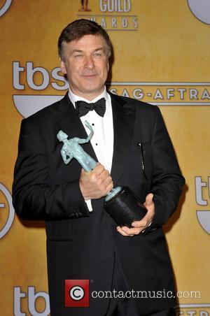 Alec Baldwin wins at the 2013 SAG Awards