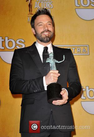 Ben Affleck at the SAG Awards