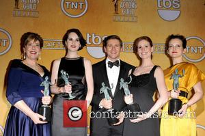 Michelle Dockery, Allen Leech, Phyllis Logan, Amy Nuttall, Sophie Mcshera and Downton Abbey