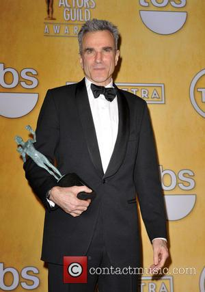 Daniel Day-Lewis at the SAG Awards