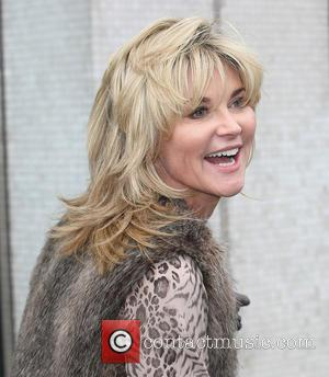 Anthea Turner - Celebrities at the ITV studios London United Kingdom Monday 28th January 2013