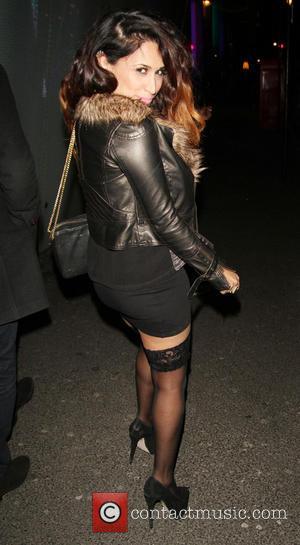 Preeya Kalidas - Jade Ewen's surprise party London United Kingdom Monday 28th January 2013