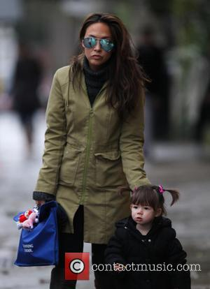Myleene Klass and Hero Harper Quinn
