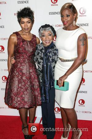 Angela Bassett, Ruby Dee and Mary J Blige - Premiere of 'Betty & Coretta' New York City USA Monday 28th...