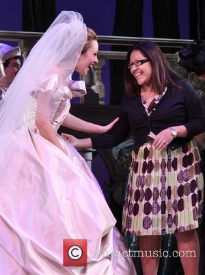 Laura Osnes and Maria Roca